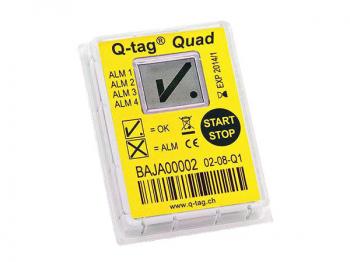 Q-tag QUAD (+20;+8;+2;-0,5) однократного использования